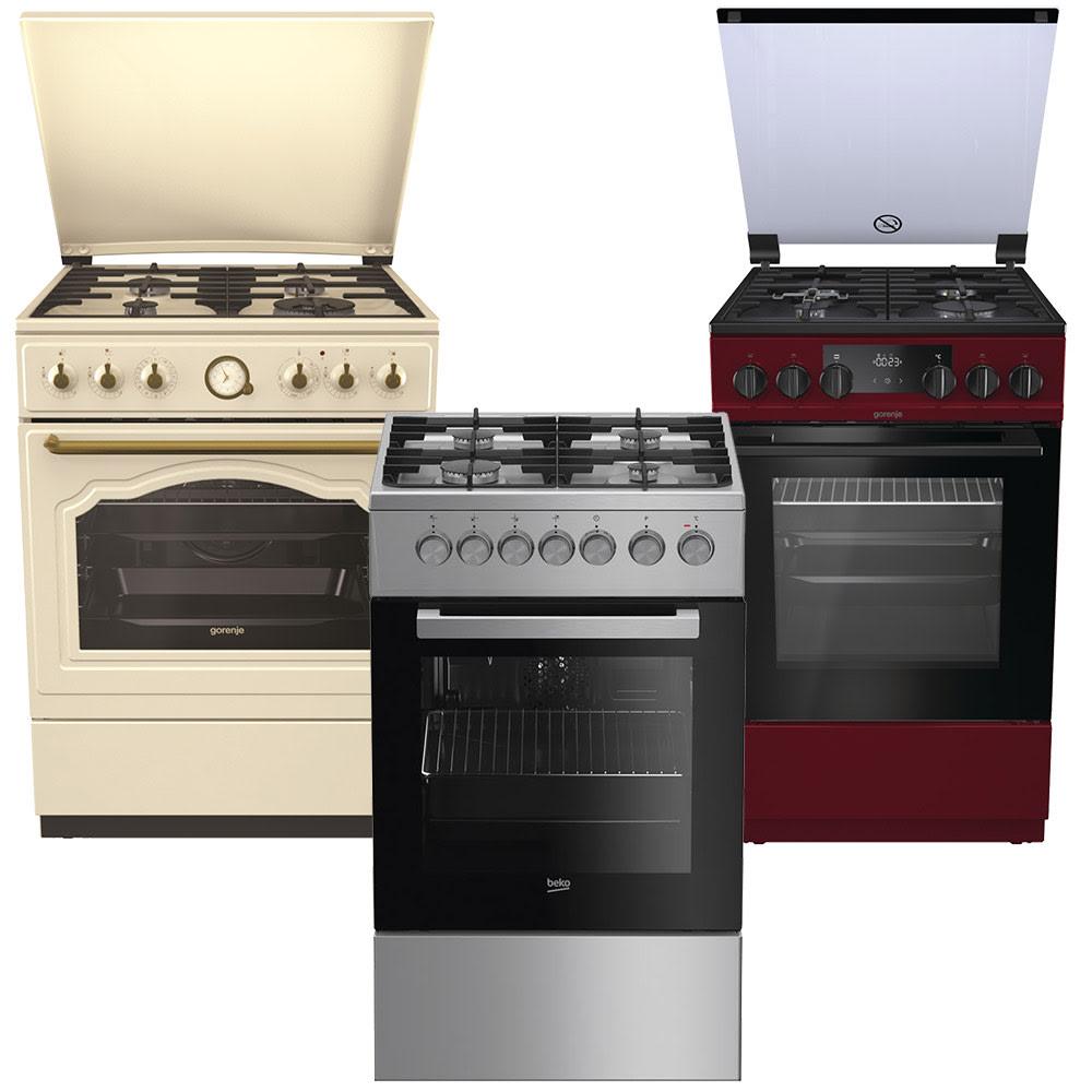 Кухонные плиты - Комбинированные