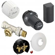 Клапаны и термостатические головки Теплый пол гидравлический