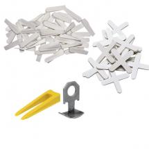 Хрестики та клини для укладання плитки