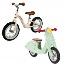 Велобіги та штовхокари дитячі