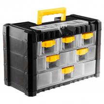 Ящики, органайзеры и сумки для инструментов