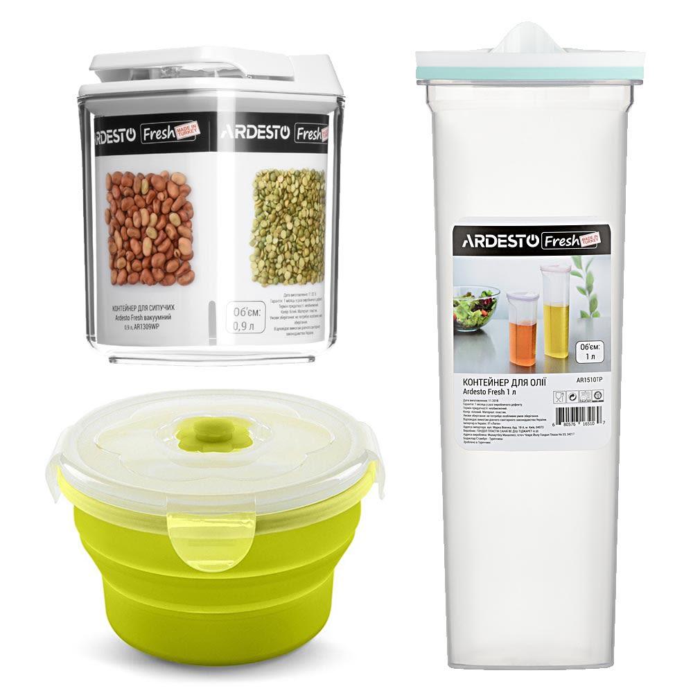 Контейнеры и емкости для хранения продуктов