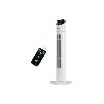 Напольний вентилятор Ardesto колонного типу, висота 90 см з пультом ДК