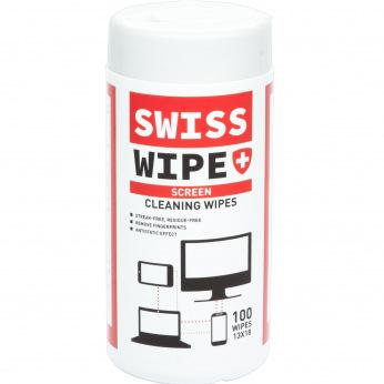 Салфетки SWISS WIPE для мониторов и экранов TV/OLED/LCD/TFT 100шт (SW1318100TV)