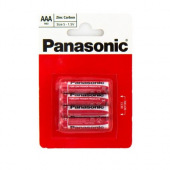 Батарейка Panasonic RED ZINK R03 BLI 4 ZINK-CARBON (R03REL/4BP)