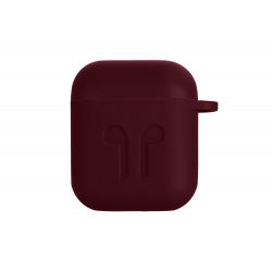 Чехол 2E Pure Color Silicone Imprint (1.5mm) для Apple AirPods (2E-AIR-PODS-IBSI-1.5-M)