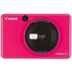 Портативна камера-принтер Canon ZOEMINI C CV123 Bubble Gum Pink + 30 листов Zink PhotoPaper (3884C035)