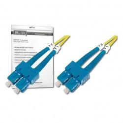 Оптический патч-корд DIGITUS SC/UPC-SC/UPC, 9/125, OS2, duplex, 1m (DK-2922-01)
