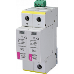 Ограничитель перенапряжения ETI ETITEC C T2 PV 550/20 RC (для PV систем) (2440432)