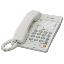 Проводной телефон Panasonic KX-TS2363UAW White (KX-TS2363UAW)