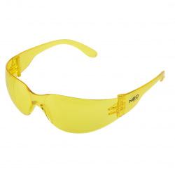 Окуляри NEO захисні протиосколкові, жовті, клас захисту F (97-503)