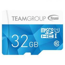 Карта памяти MicroSDHC  32GB UHS-I Team Color Blue (TCUSDH32GUHS02) (TCUSDH32GUHS02)