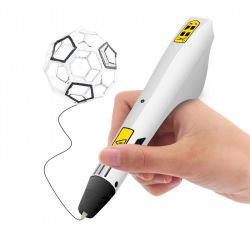 Ручка 3D Dewang D9 white (PLA) (D_9_WHITE)