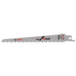 Полотно пильное сабельное Bosch S 644 D Top for Wood, 5шт (2.608.650.673)
