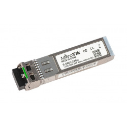SFP-Трансивер  MikroTik SFP module 1.25G SM 80km 1550nm Dual LC-connector DDM -40C +85C (S-55DLC80D)
