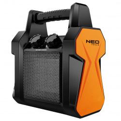 Обігрівач керамічний переносний NEO TOOLS, PTC, 2 кВт, потік повітря - 139 м3 / год (90-060)