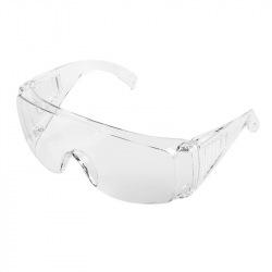 Окуляри NEO захисні протиосколкові, білі, клас захисту F (97-508)