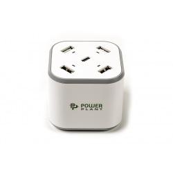 Зарядное устройство PowerPlant 4xUSB + Type-C 5V 8.4A (SC230112)