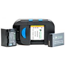 Универсальное з/у PowerPlant для всех типов аккумуляторов + 2 AA/ BM-001 (DV00DV2914)