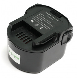 Аккумулятор PowerPlant для шуруповертов и электроинструментов AEG GD-AEG-12(B) 12V 2Ah NICD (B1214G) (DV00PT0024)