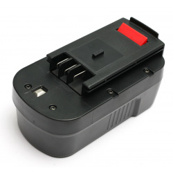 Аккумулятор PowerPlant для шуруповертов и электроинструментов BLACK&DECKER GD-BD-18(B) 18V 2Ah NICD (DV00PT0027)