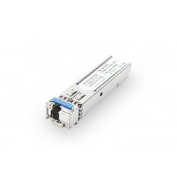 Модуль DIGITUS SFP 1.25 Gbps, SM 20km, LC Simplex, 1000Base-LX, Tx1310nm/Rx1550nm, HP-compatible (DN-81003-01)