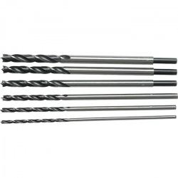 Набір свердел по дереву 6-8-10-12-13-14 мм, L 300 мм, 6 шт, циліндричний хвостовик,  SPARTA (MIRI702305)