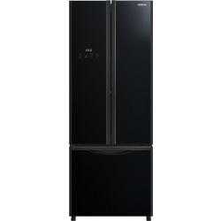 Холодильник Hitachi R-WB600PUC9GBK ниж. мороз./3 двери/ Ш680xВ1795xГ760/ 415л /A+/Черный (стекло) (R-WB600PUC9GBK)