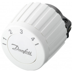 Термостатична головка Danfoss FJVR, резьбовое подключения RTL, регулирования +10 до + 50 °C, белая (003L1040)