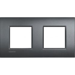 Рамка Livinglight AIR 2 пости, Антрацит (LNE4802M2AR)