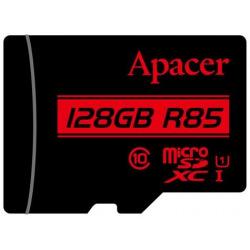 Карта пам'яті Apacer 128GB microSDHC C10 UHS-I R85MB/s + SD (AP128GMCSX10U5-R)
