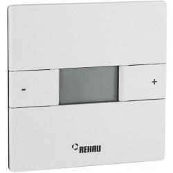 Терморегулятор Rehau Nea H, електронний, програмований, провідний, 230V, +5+30, білий (336230001)