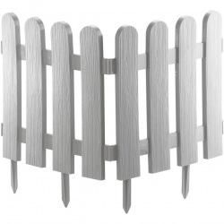 """Паркан декоративний """"Класика"""", 29 х 224 см, білий,  Palisad (MIRI65008)"""