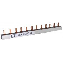 Шина питания ETI IZS 10/1F/54 (63А, 1фаз, 54 мод, штырьковая, 1м) (2921101)