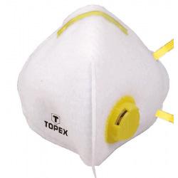 Маска захисна Topex, 1 клапан FFP1 (82S137)