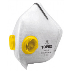 Маска захисна Topex, 2 клапан FFP1 (82S138)