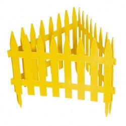 """Паркан декоративний """"Рейка"""", 28 х 300 см, жовтий, PALISAD (MIRI65000)"""