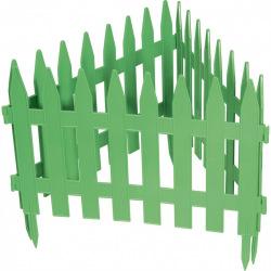 """Паркан декоративний """"Рейка"""", 28 х 300 см, зелений, PALISAD (MIRI65005)"""