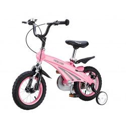 Дитячий велосипед Miqilong SD Рожевий 12`  (MQL-SD12-Pink)