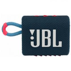 Акустична система JBL GO 3 Blue Pink (JBLGO3BLUP) (JBLGO3BLUP)