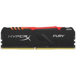 Оперативная память для ПК Kingston DDR4 3000 32GB KIT (16GBx2) HyperX Fury RGB (HX430C15FB3AK2/32)