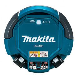Робот-пылесос Makita DRC 200 Z аккумуляторный, 18В + 18В, Li-ion, 0,3 м/сек, до 500 м2, 7,3 кг, без АКБ (DRC200Z)