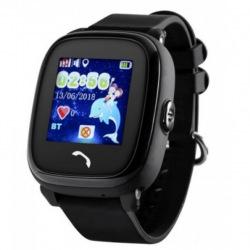 Дитячий GPS годинник-телефон GOGPS ME K25 Чорний (K25BK)
