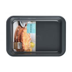 Форма для выпечки Ardesto Tasty baking 37,5*25,5 см прямоуг., серый,голубой, углеродистая сталь (AR2304T)