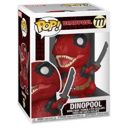 Коллекционная фигурка Funko POP! Bobble Marvel Deadpool 30th Dinopool 54655 (FUN2549965)