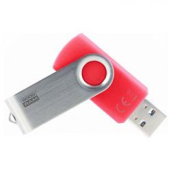 Флeш пам'ять USB 3.0 32GB UTS3 Twister Red (UTS3-0320R0R11)