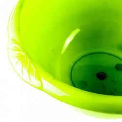 Таз пластмасовий круглий, зелений, 9 л,  Elfe (MIRI92975)