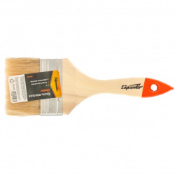 "Пензель плоский Slimline 3"" (75 мм), натуральна щетина, дерев'яна ручка,  SPARTA (MIRI824405)"