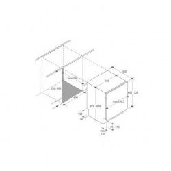 будовувана посудомийна машина Candy CDI1L38/T A+/60см./13 компл./Led-індикація/Бiлий (CDI1L38/T)