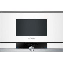 Вбудовувана мікрохвильова піч Siemens BF634LGW1 - 21л./900Ватт/TFT дисплей/білий (BF634LGW1)